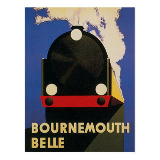 Bournemouth Belle Postcard