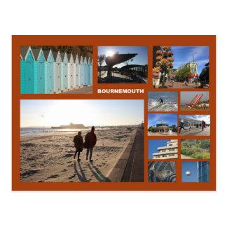 Bournemouth multi-image postcard
