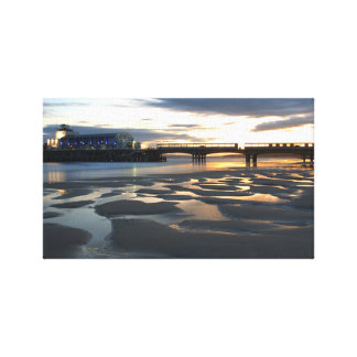 Bournemouth pier canvas print