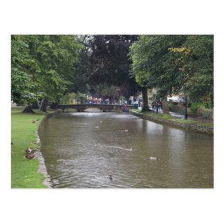 Bourton-on-the-Water postcard