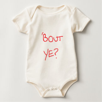 'Bout Ye? Baby Bodysuit