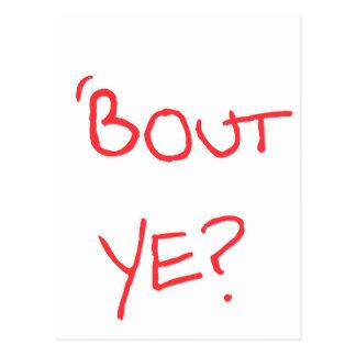 'Bout Ye? Postcard