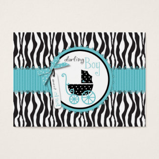 Boutique Chic Boy Gift Tag Business Card