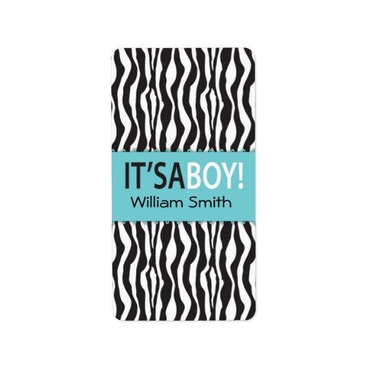 Boutique Chic Boy Mini Hershey Bar Label