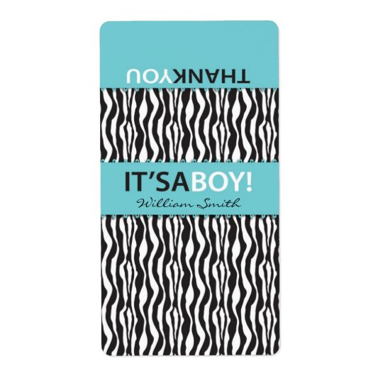 Boutique Chic Boy Mini Hersheys Label CTS