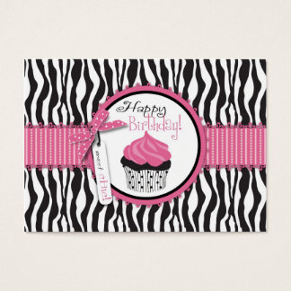 Boutique Chic Cupcakes Gift Card