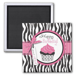 Boutique Chic Cupcakes Magnet B2