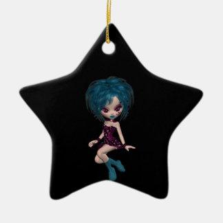 Boutique Gothique Mascot Goth Girl 9 Ornament