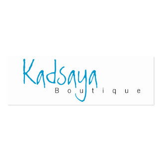 Boutique Kadsaya 4 Store Business Card