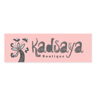 Boutique Kadsaya 5 Store Business Card