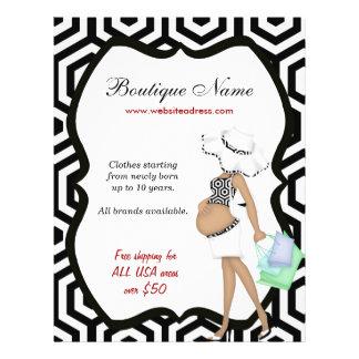 Boutique online 21.5 cm x 28 cm flyer