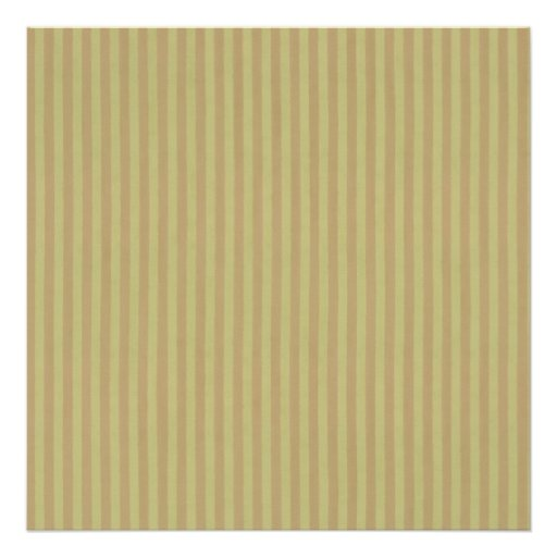 "Boutique Stripes ~ Gift Wrapping Paper 24""x24"" Poster"