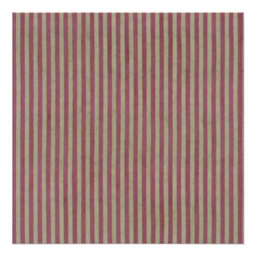 "Boutique Stripes ~ Gift Wrapping Paper 24""x24"" Print"