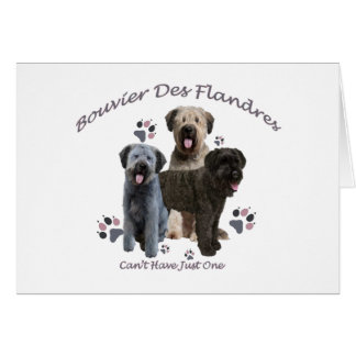 Bouvier Des Flandres Can't Have Just One Card