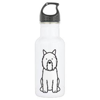 Bouvier des Flandres Dog Cartoon 532 Ml Water Bottle