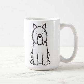 Bouvier des Flandres Dog Cartoon Coffee Mug