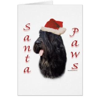 Bouvier des Flandres Santa Paws Card