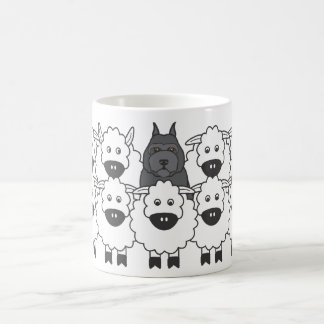Bouvier in the Sheep Coffee Mug