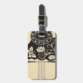 Bouzouki Luggage Tag