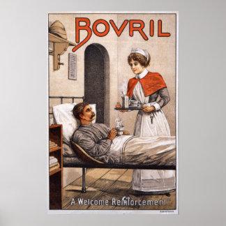 Bovril Hospice, 1900 Poster