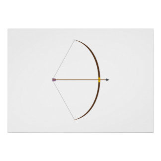 Bow and Arrow Poster