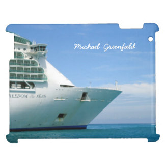 Bow and Sky Personalized Cover For The iPad