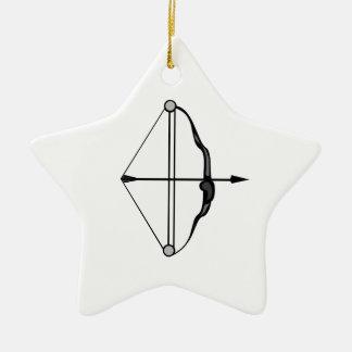 Bow & Arrow Christmas Ornament