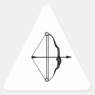 Bow & Arrow Triangle Sticker