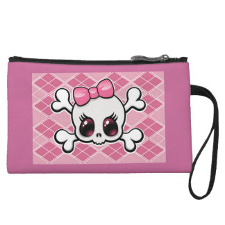Bow Bagettes Bag Wristlet Clutch