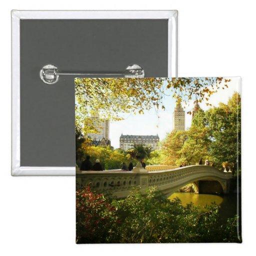 Bow Bridge in Autumn, Central Park, New York City