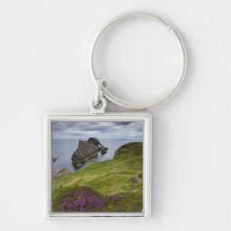Bow Fiddle Rock, Portknockie, Scotland Key Ring