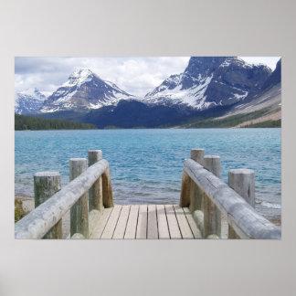 Bow Glacier Lake, AB, Canada Poster