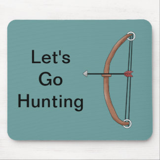 Bow hunting Hobby Sport Design Mouse Pad
