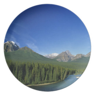 Bow River near Banff National Park in Alberta Dinner Plates