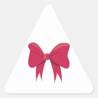 Bow Triangle Sticker