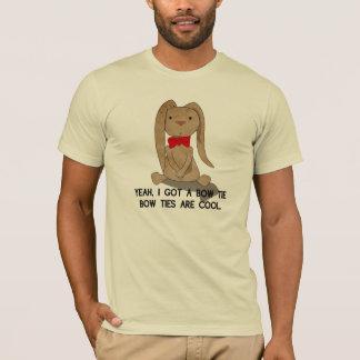 Bow Tie Bunney T-Shirt