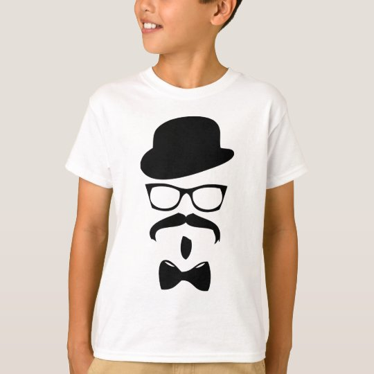 bow tie hat and glasses T-Shirt