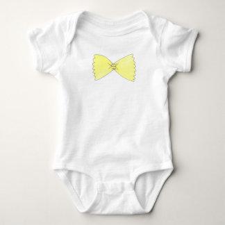 Bow Tie Pasta Baby Bowtie Italian Food Infant Suit Tee Shirt