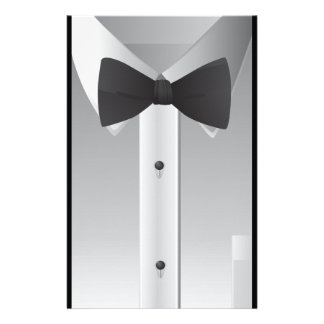 Bow tie stationery paper