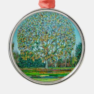 Bow Tree Autumn Christmas Ornament