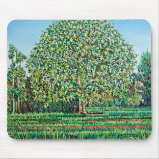 Bow Tree Spring Mouse Mat