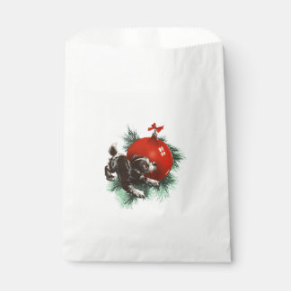 Bow Wow Christmas Favour Bags
