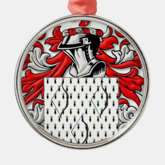 Bowe Coat of Arms Christmas Tree Ornaments