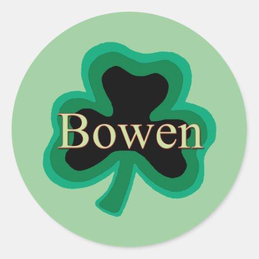 Bowen Family Sticker