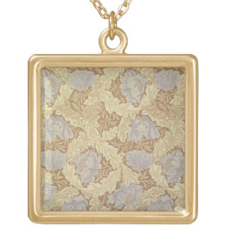 'Bower' wallpaper design Gold Plated Necklace