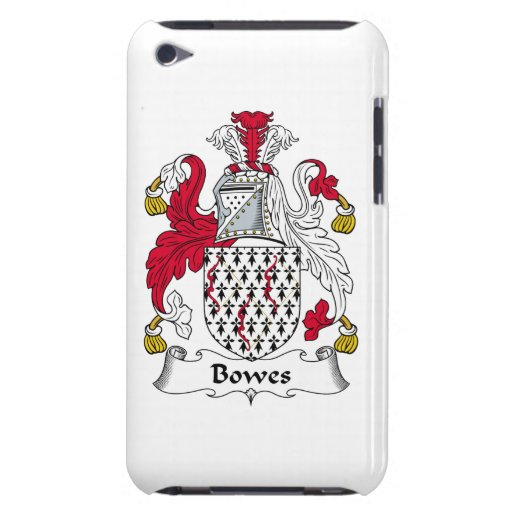 Bowes Family Crest Barely There iPod Cover