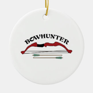 BOWHUNTER CHRISTMAS ORNAMENT