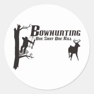 bowhunting t-shirts sticker