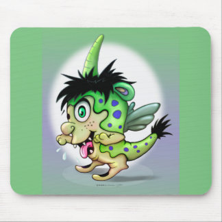 BOWIE ALIEN MONSTER CUTE CARTOON MOUSE PAD