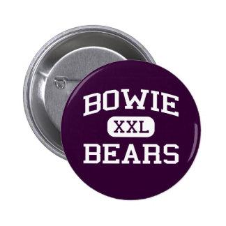 Bowie - Bears - Bowie High School - El Paso Texas Pinback Button